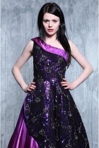 Vintage Purple Prom Dress