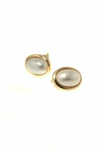 Christian Dior Pearl Earrings
