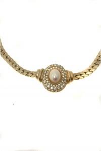 Vintage Dior Pearl Necklace