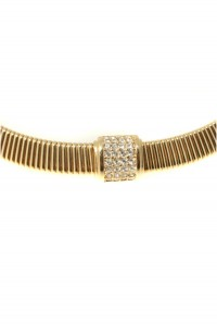 Gold Christian Dior Necklace