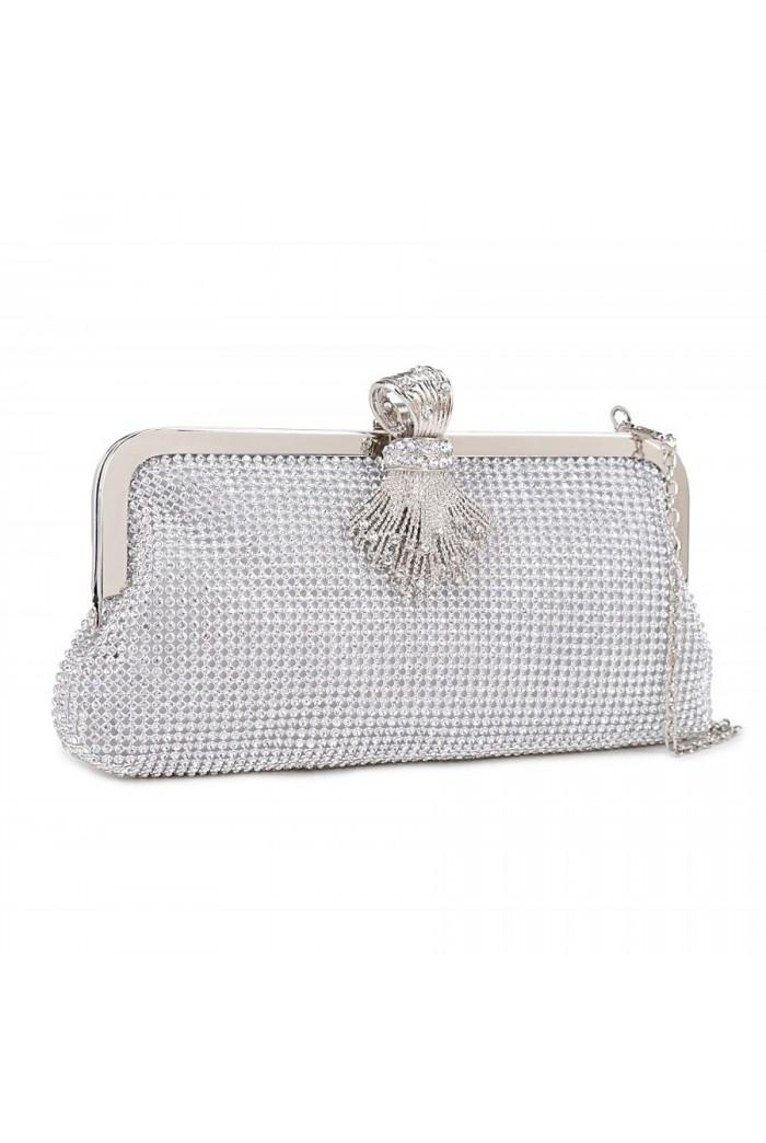 Gatsby Silver Clutch