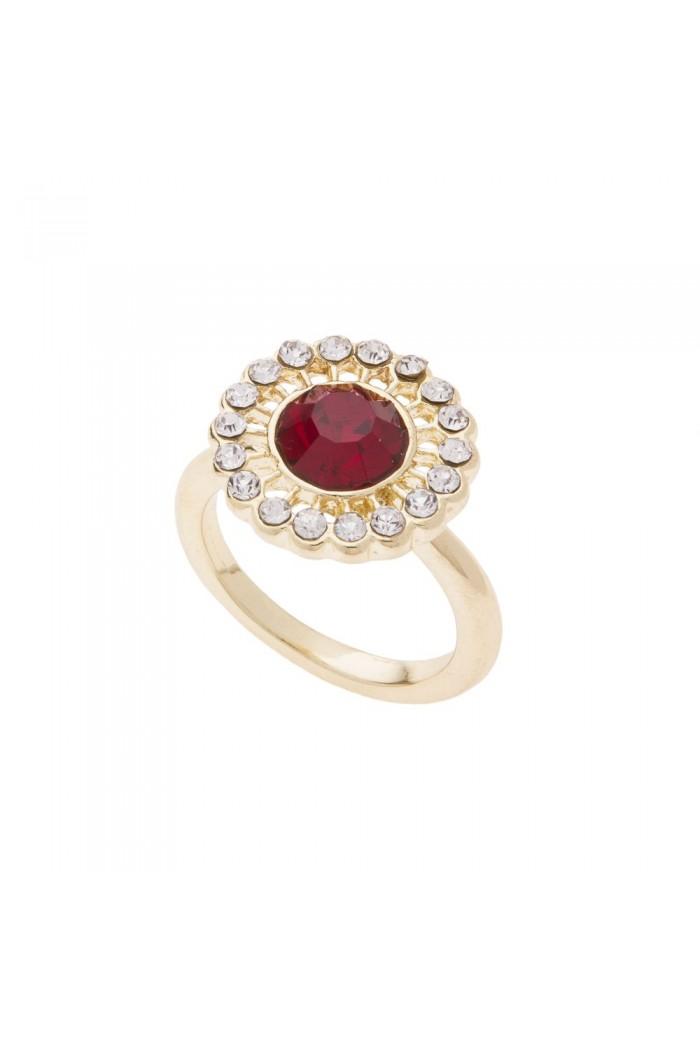 Deco Sunburst Ring