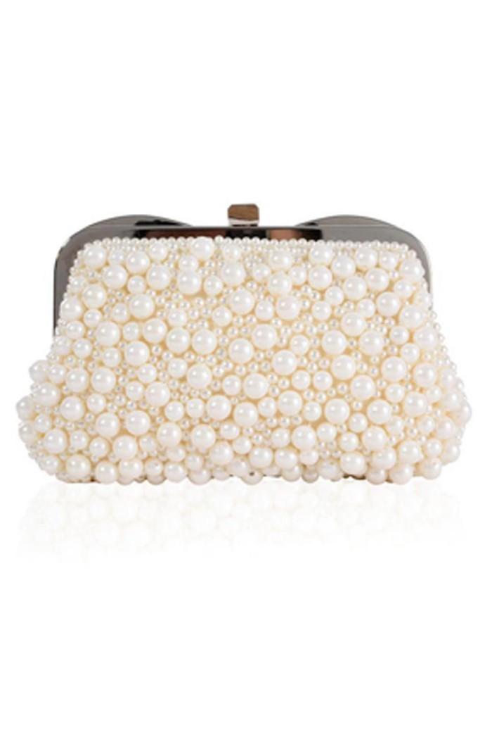 Ivory Pearl Handbag