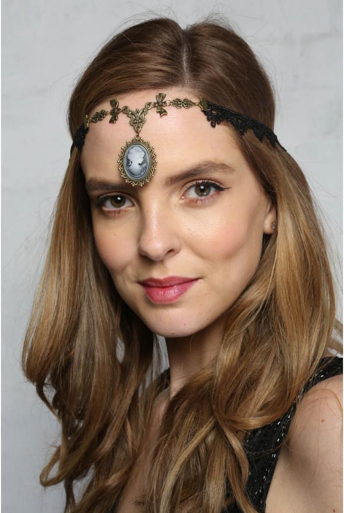Cameo Flapper Headband
