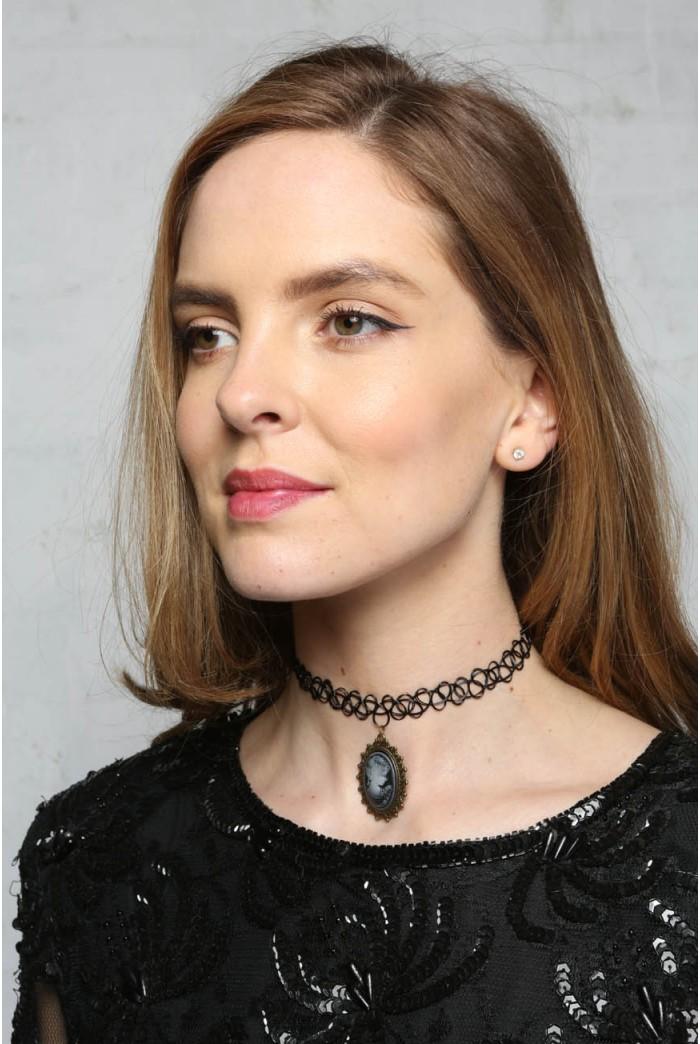 Cameo Choker Necklace