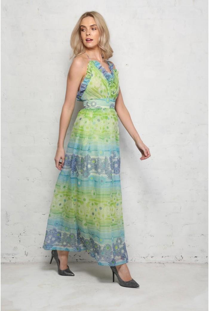 1970s daisy maxi dress maxi dresses dresses