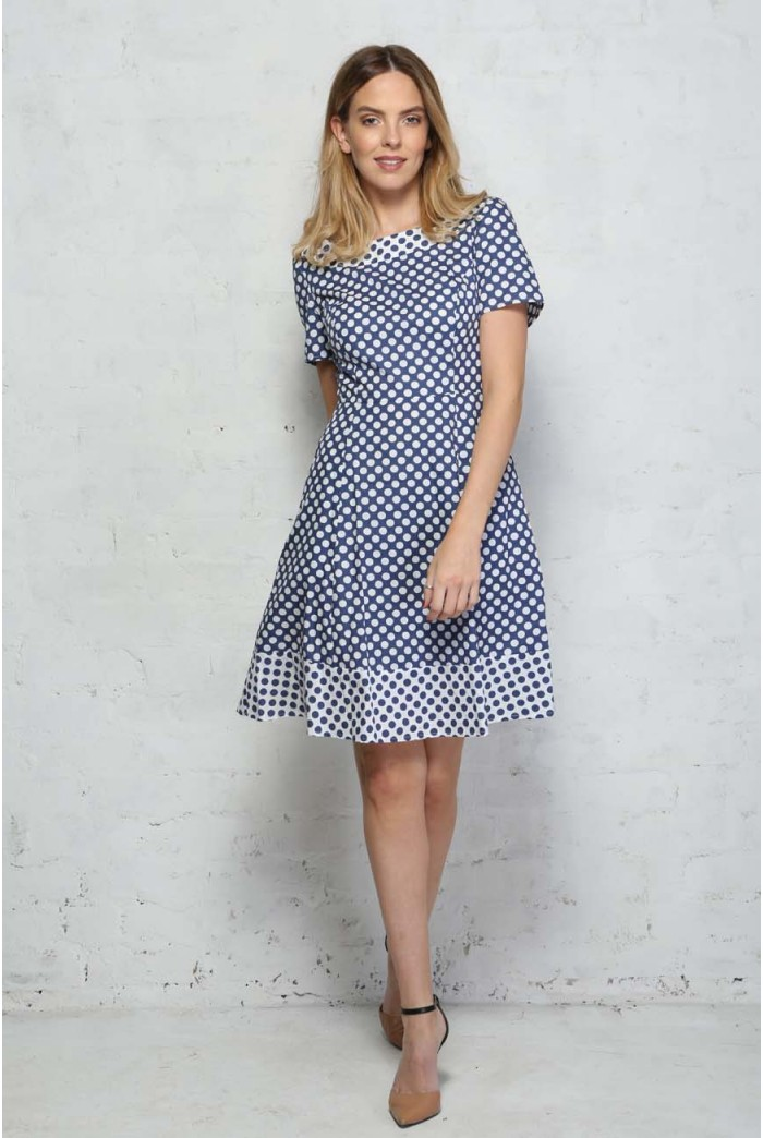 Sugarhill Boutique Lyda Polka Dot Dress