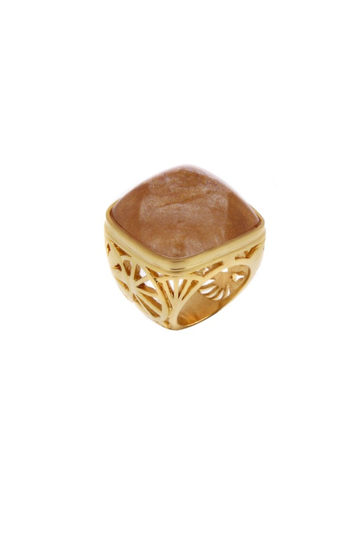 Lucas Jack Ornate Gold Ring