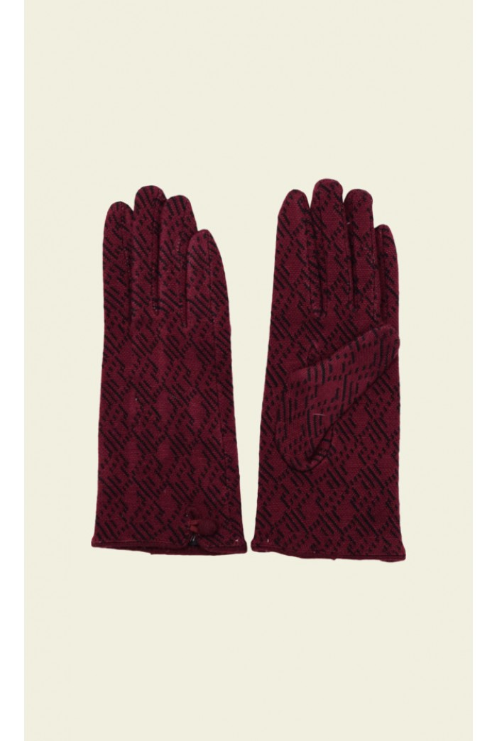 Vintage Style Red Gloves