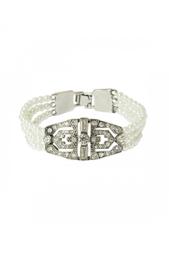 Deco Pearl Bracelet