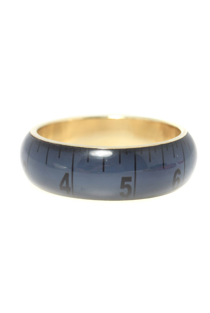 Blue Tape Measure Bracelet - Large