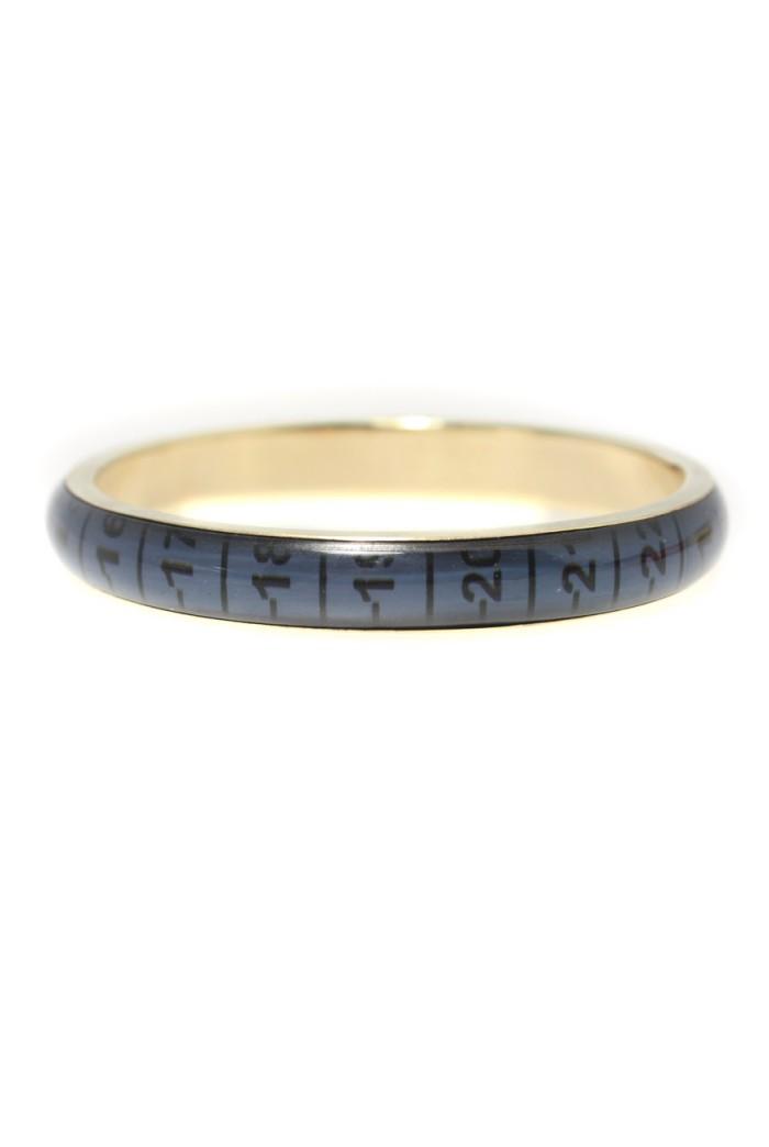Blue Tape Measure Bracelet - Small