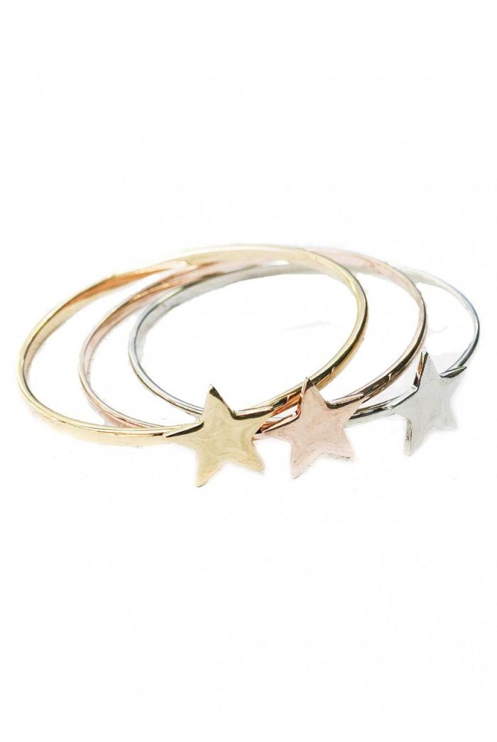 Stacking Star Bracelet Set