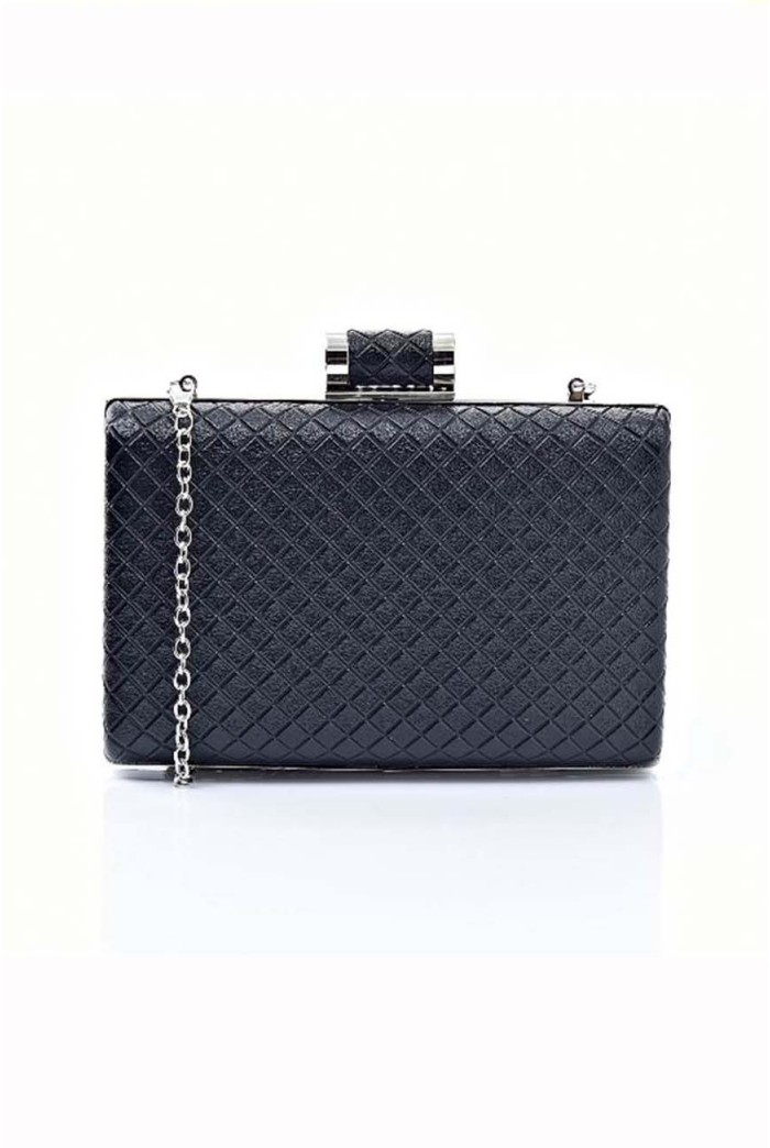 Quilted Deco Clutch