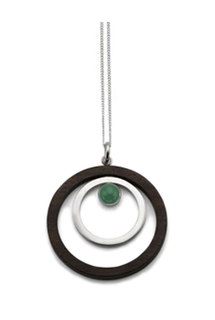 The Branch Double Ring Pendant