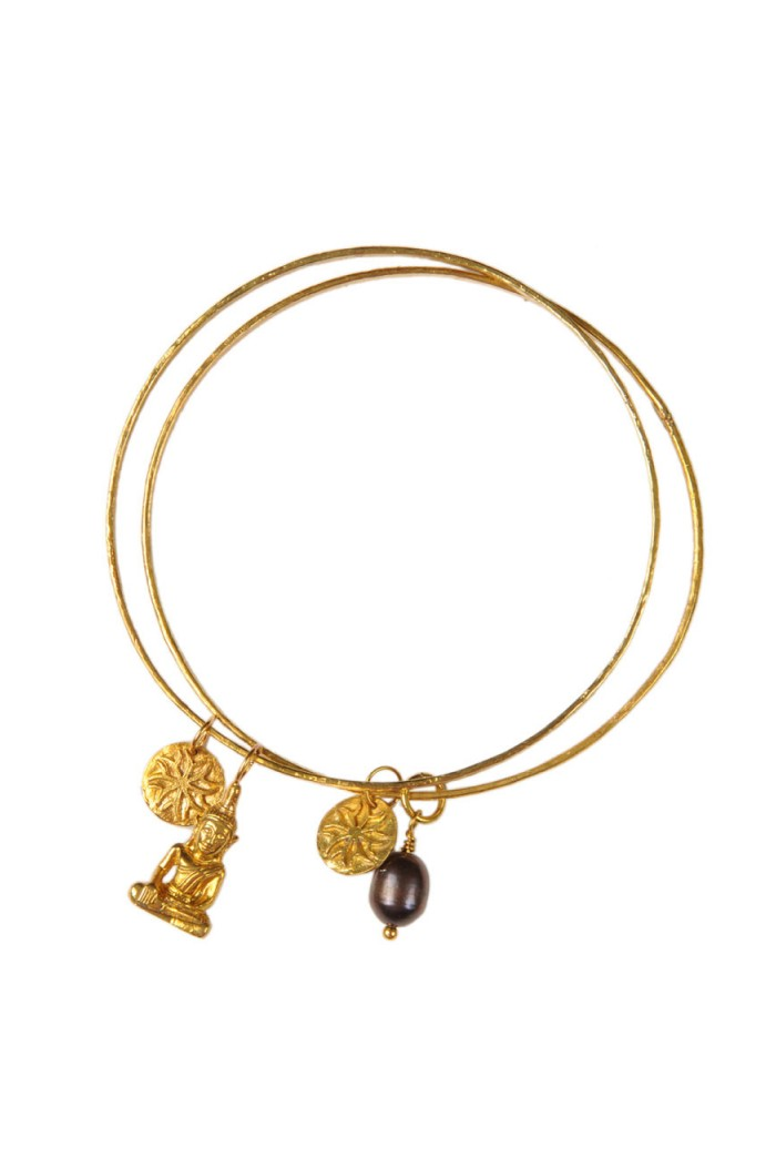 Mirabelle Buddha Bangle