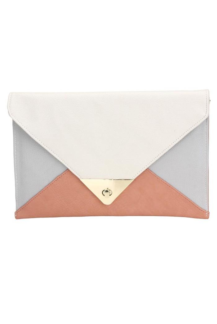 Envelope Clutch - Multi Coloured