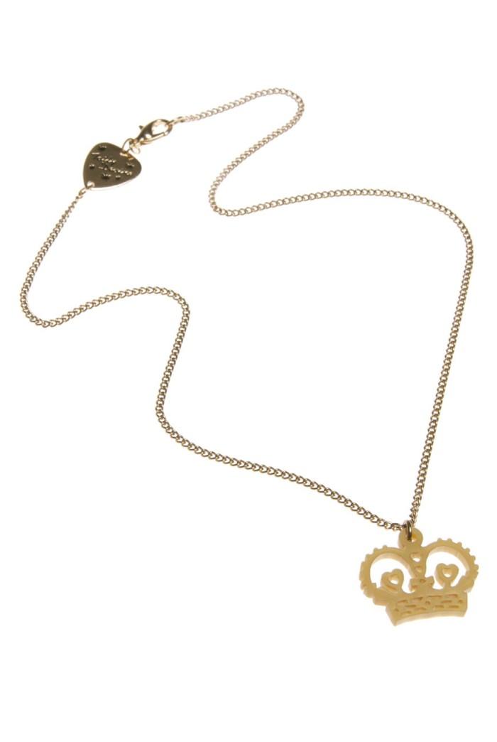 Tatty Devine Crown Necklace