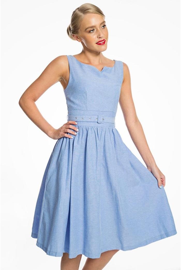 Blue Swing Dress