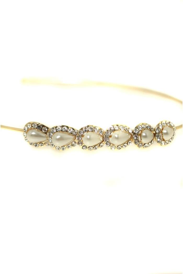 Pearl Art Deco Headband