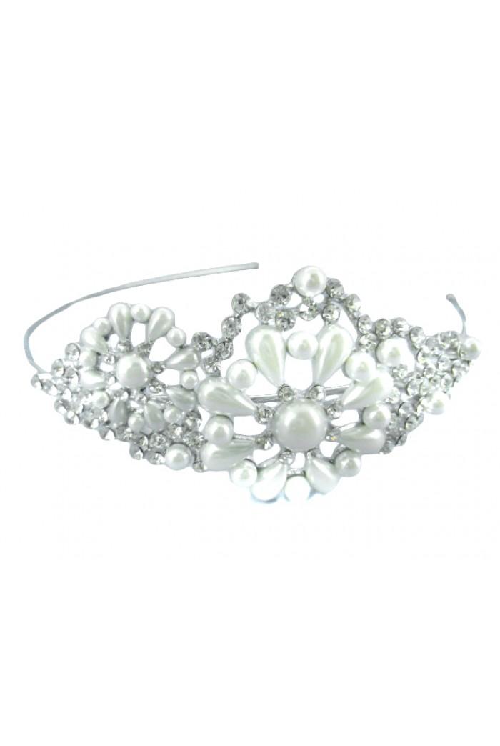 Pearl Floral Headband
