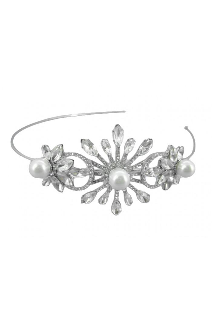 Flower And Pearl Headband