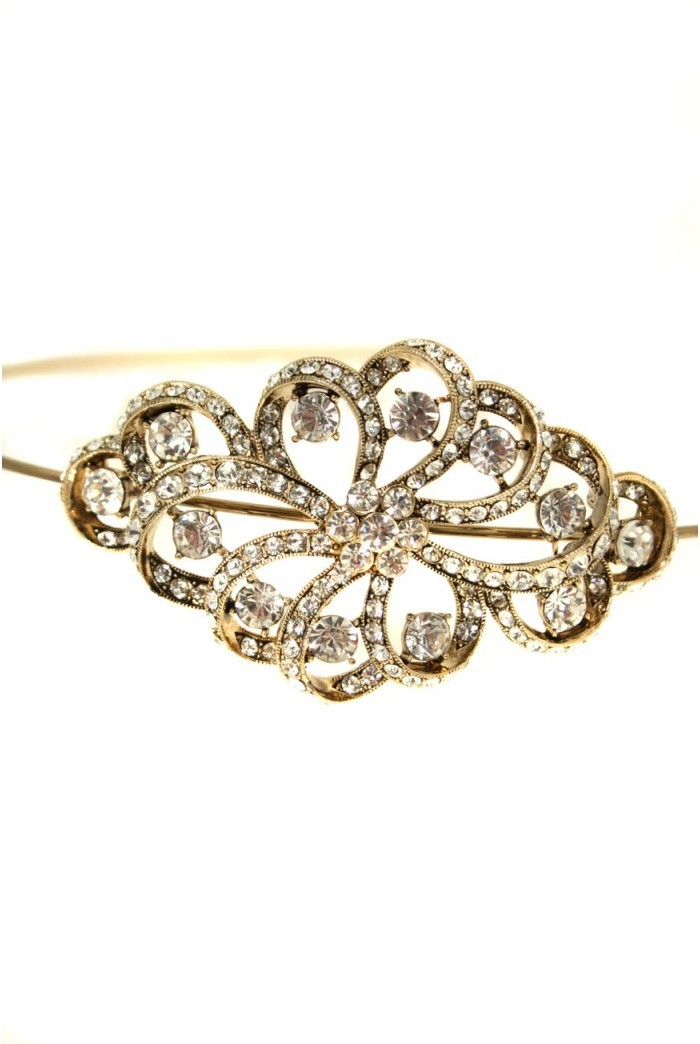 Gold Art Deco Hairband