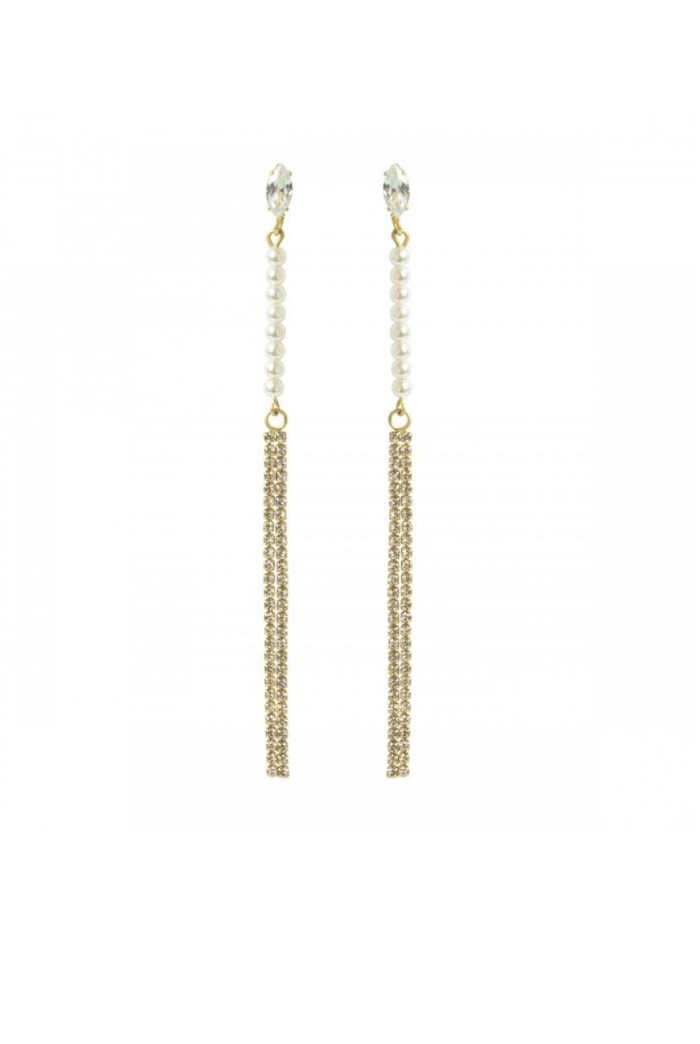 Gold Gatsby Drop Earrings