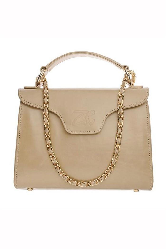 Zandra Rhodes Ellie Handbag - Cream