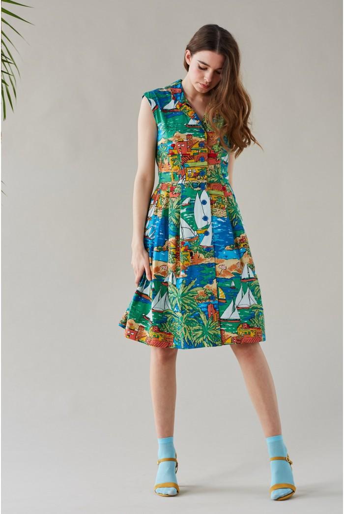 San Jose Printed Summer Dress