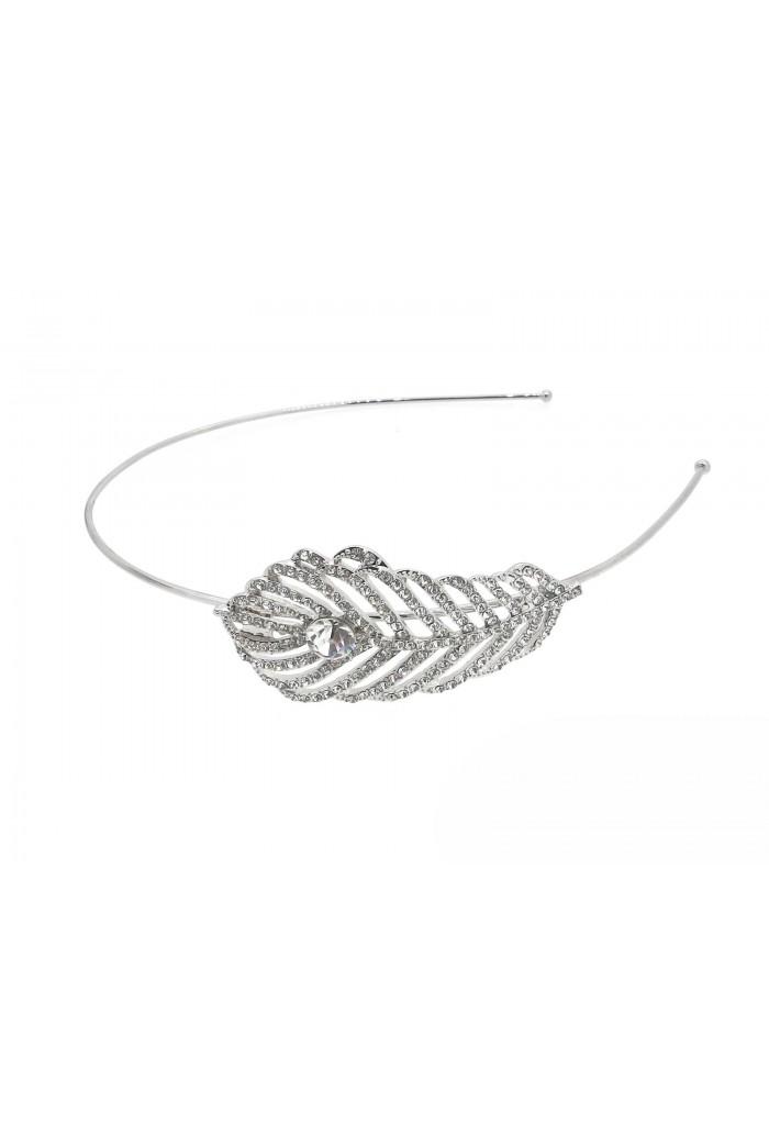 Vintage Feather Headband