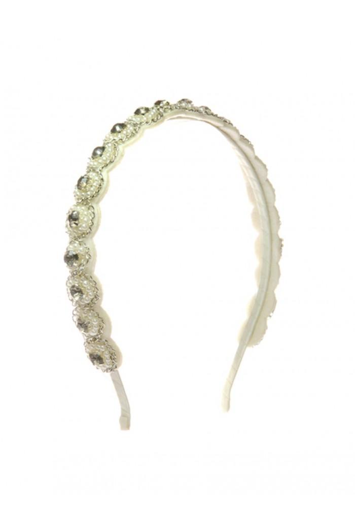 Deco Beaded Headband