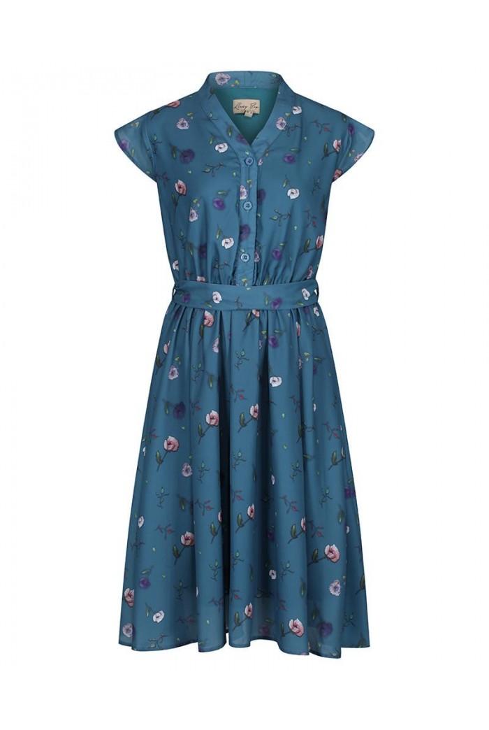 Poppy Print Tea Dress