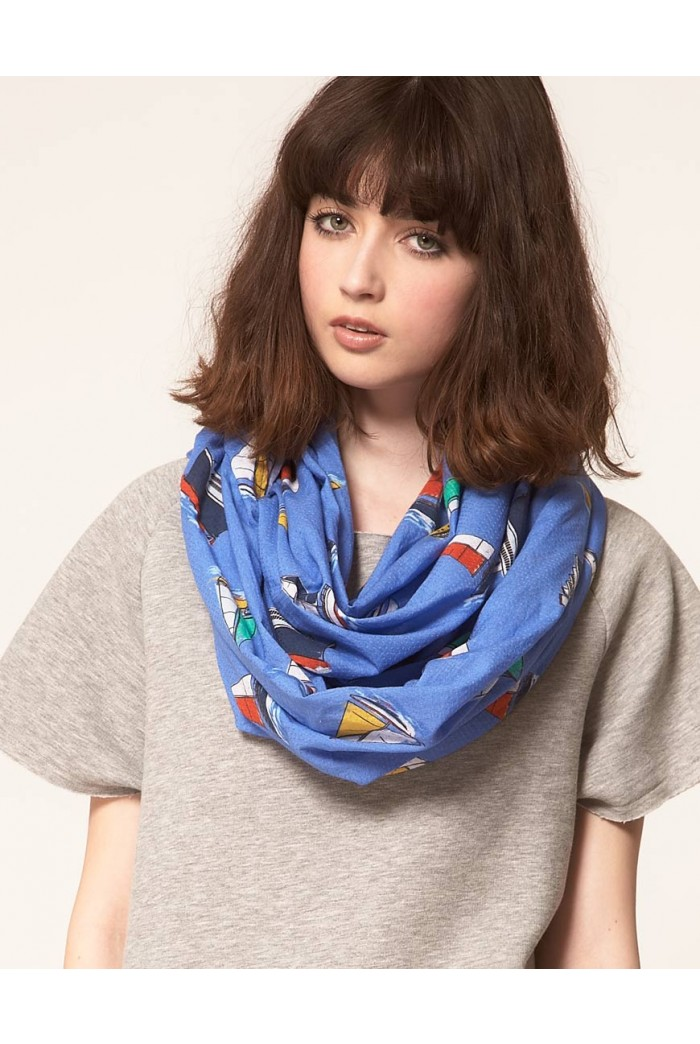 Lowie Sail Boat Scarf