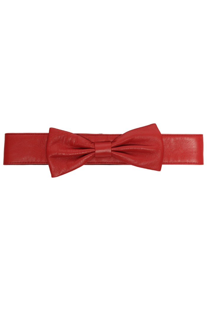 Lowie Big Bow Red Belt