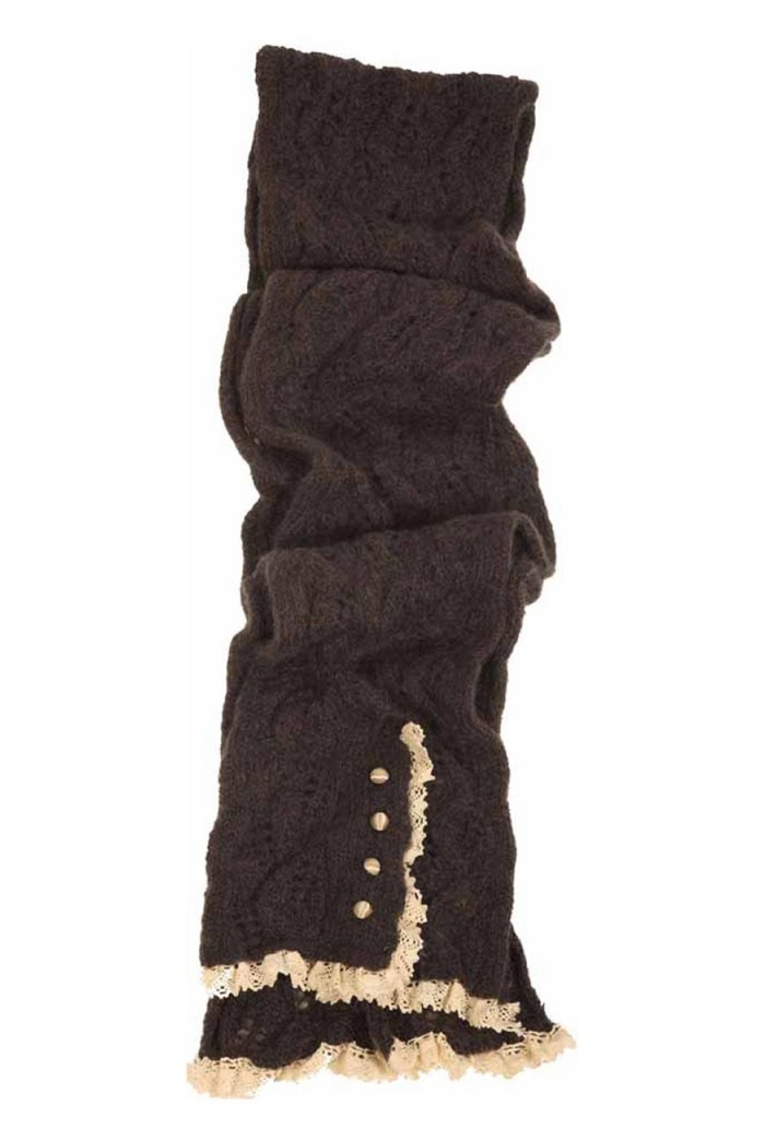 Lowie Mohair Lacy Scarf