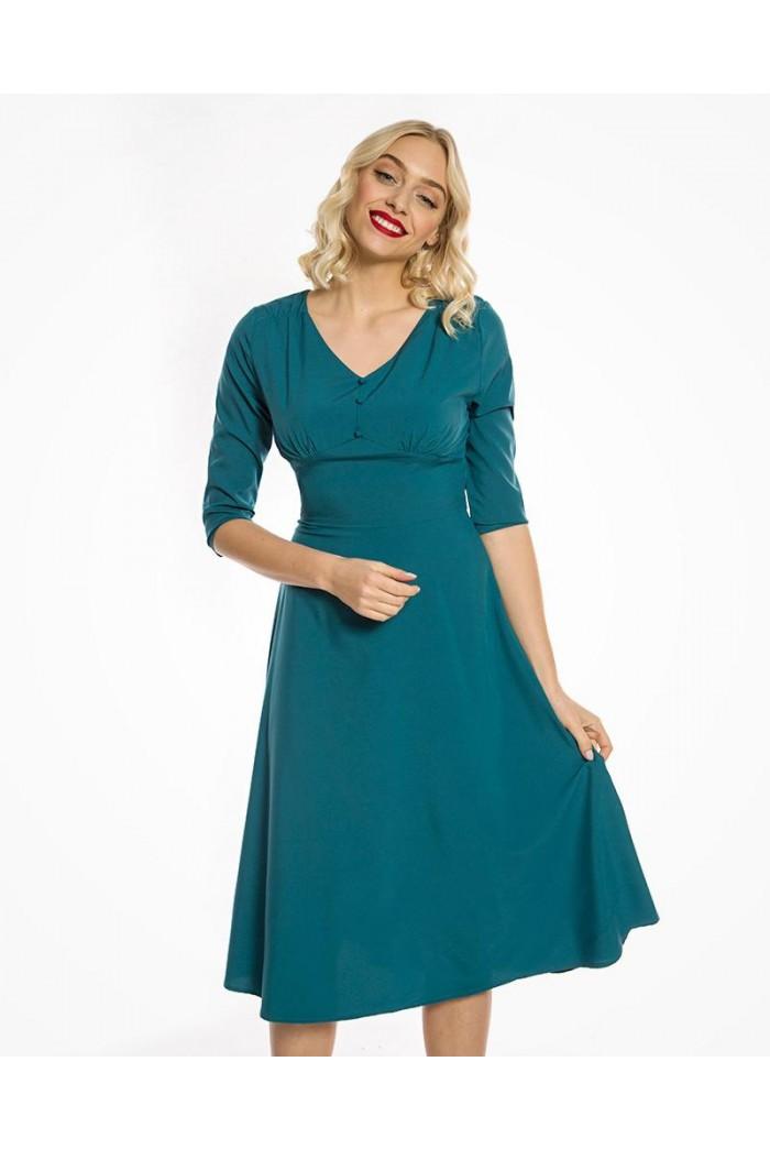 Green 1940s Dress