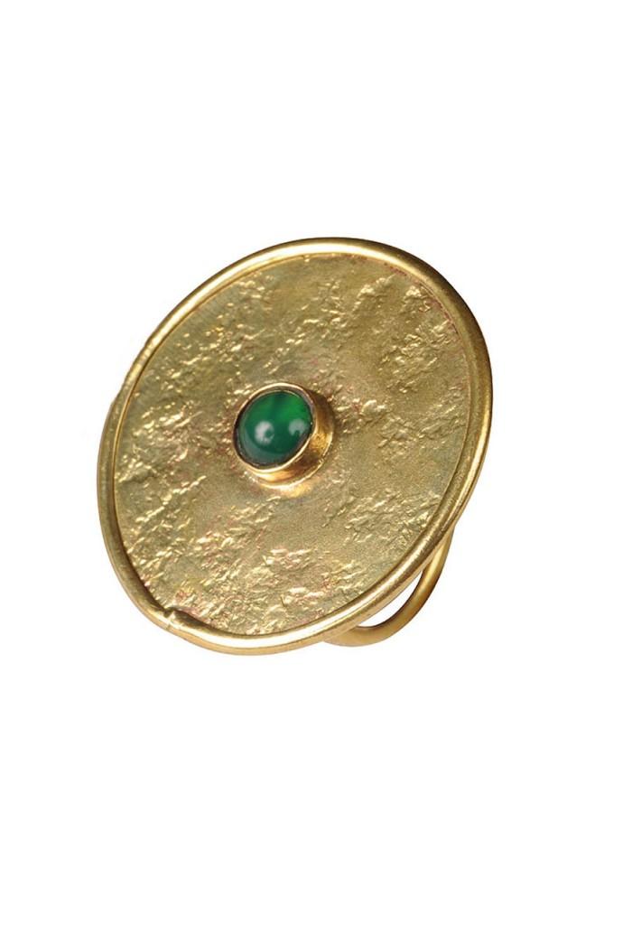 Mirabelle Small Meta Ring