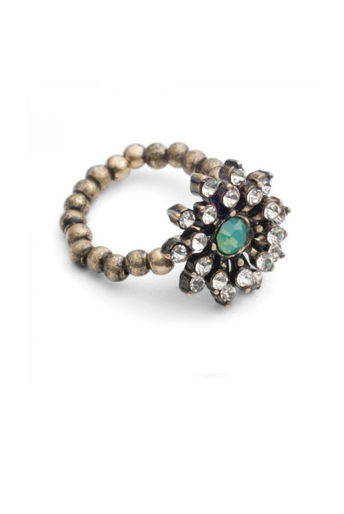 Diamante Art Deco Ring