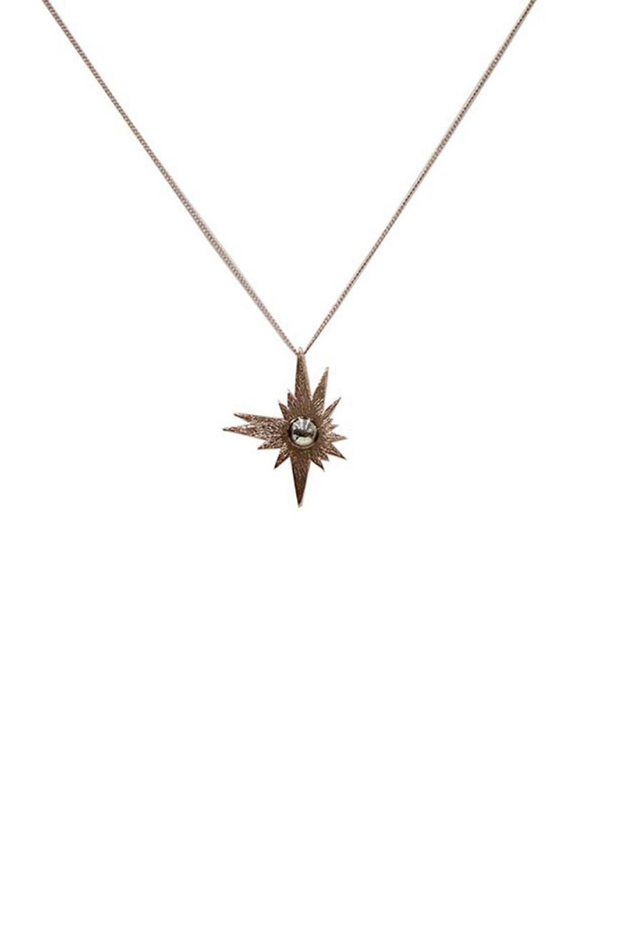Rose Gold Sun Necklace