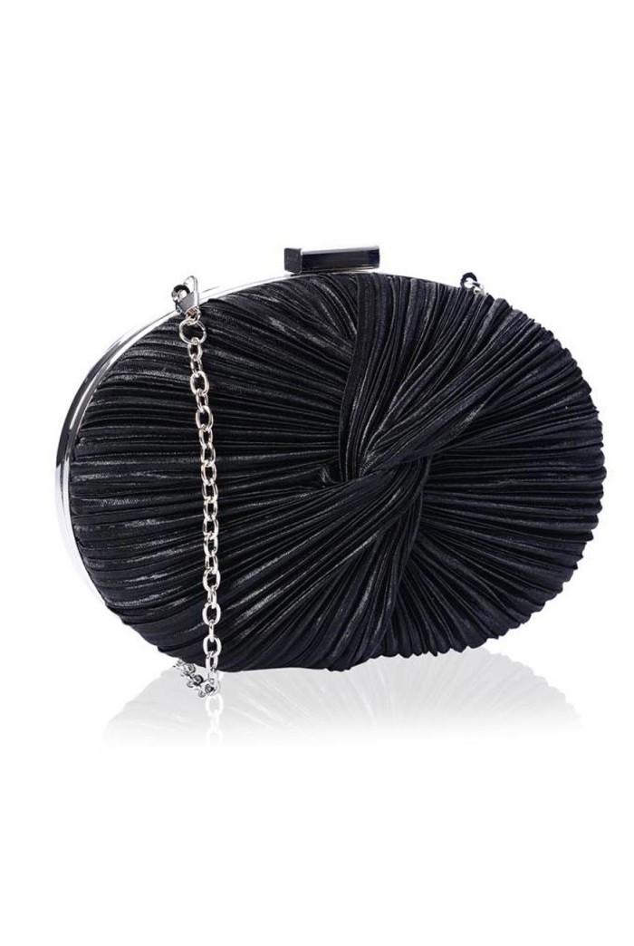 Black Gatsby Clutch Bag