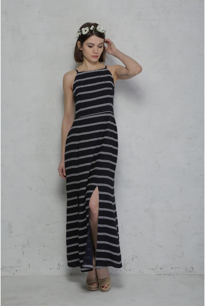 Sugarhill Boutique Mia Stripe Maxi Dress
