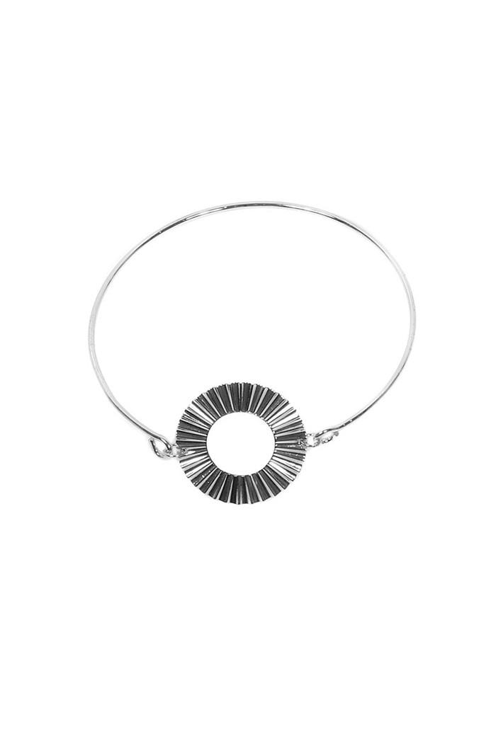 Silver Sunburst Bracelet