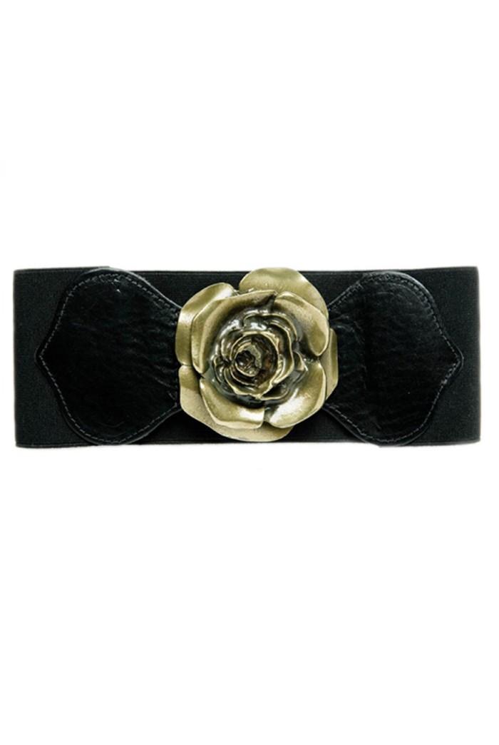 Rose Elastic Belt