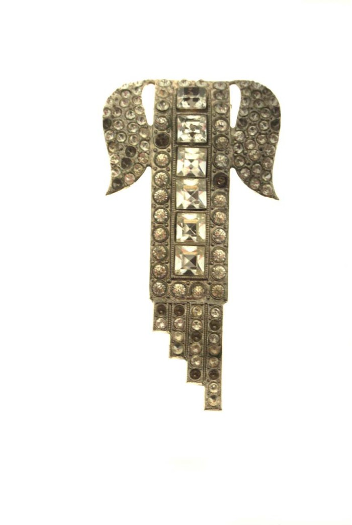 Vintage Deco Dress Clip