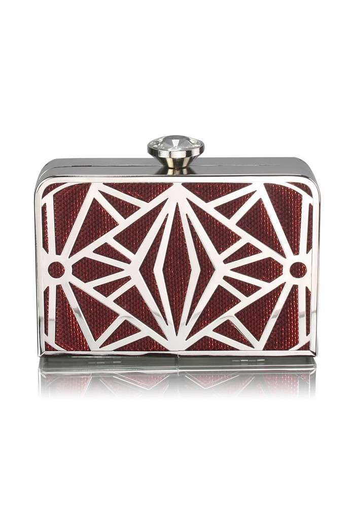 Red Gatsby Clutch Bag