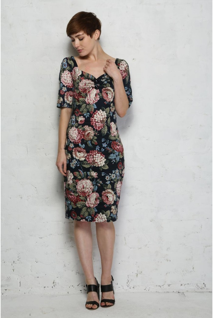 Collectif Dolores Woodland Bloom Dress