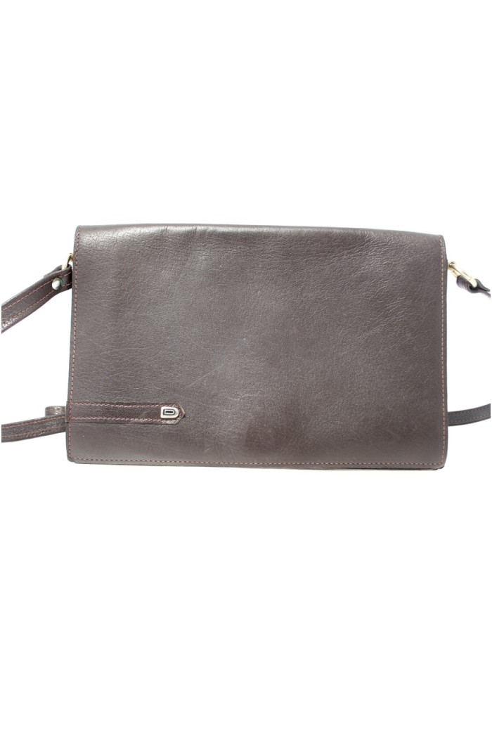 Vintage Brown Shoulder Handbag