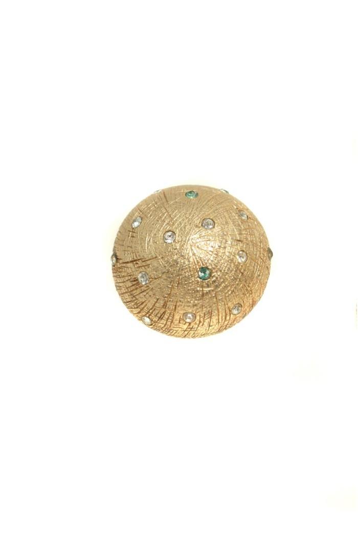 Gold Dior Earrings