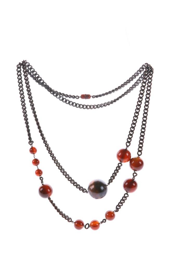 Vintage 1960s Bauble Necklace